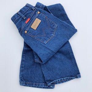 Wrangler Vintage High Waisted Mom Jeans 11x30